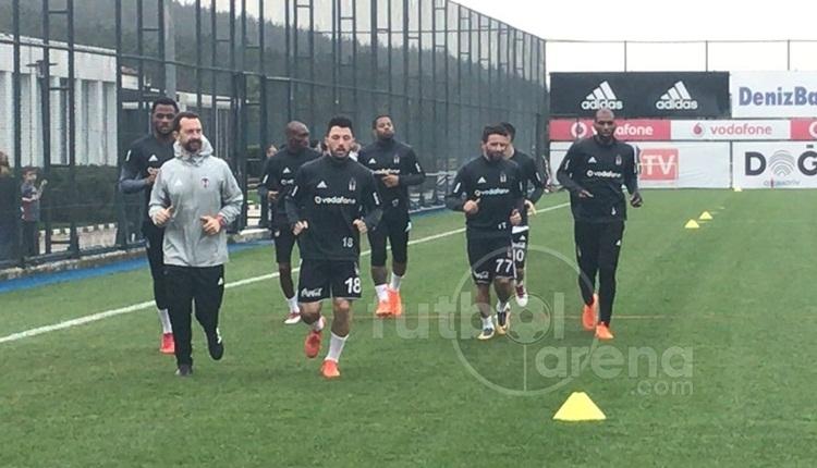 Beşiktaş idmanında gerginlik! Oğuzhan ve Tosic