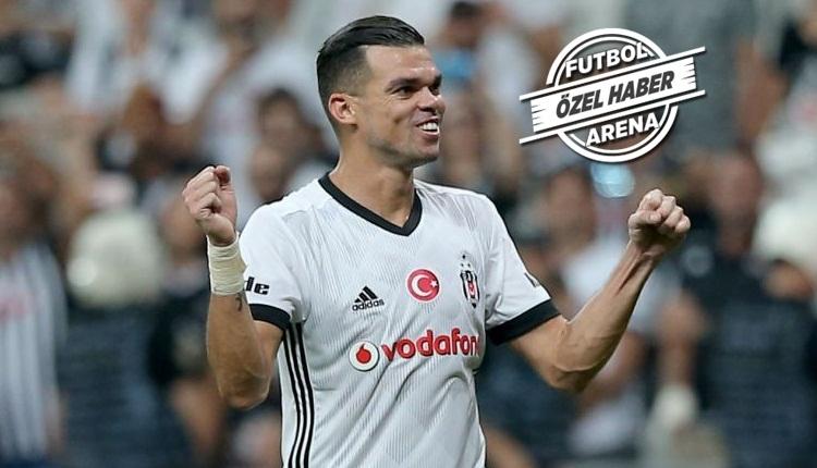 Beşiktaş'a Başakşehir öncesi Pepe müjdesi