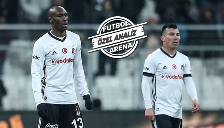 Beşiktaş'ın kilit isimleri Atiba Hutchinson ve Gary Medel