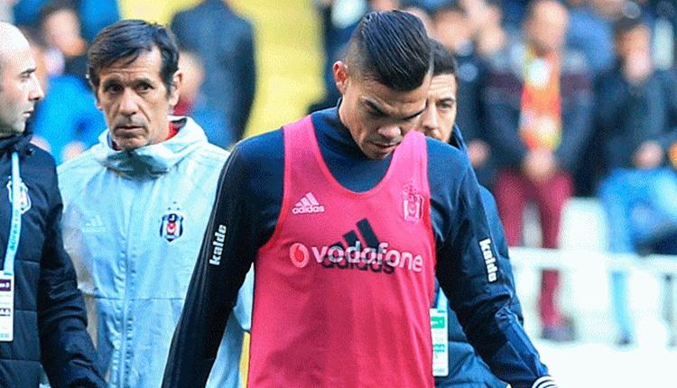Beşiktaş'ta Pepe 4 hafta yok!