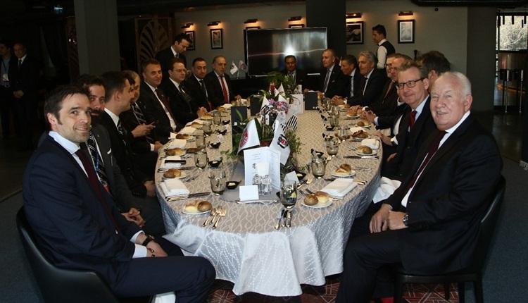 Beşiktaş'tan Bayern Münih ve UEFA heyetine jest