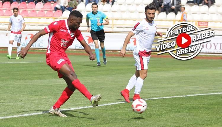 Boluspor 2-0 Gaziantepspor maçı özeti ve golleri (İZLE)