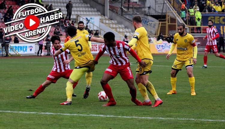 Boluspor 3-1 Ankaragücü maçı özeti ve golleri (İZLE)