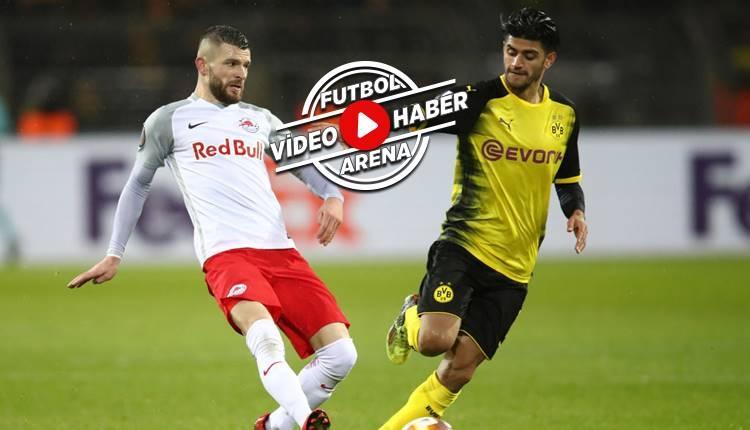 Borussia Dortmund 1-2 Salzburg maçı özeti ve golleri (İZLE)