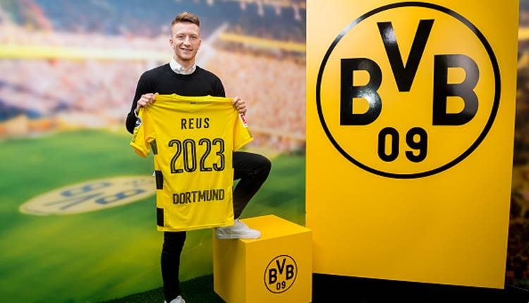 Borussia Dortmund, Marco Reus ile sözleşme imzaladı
