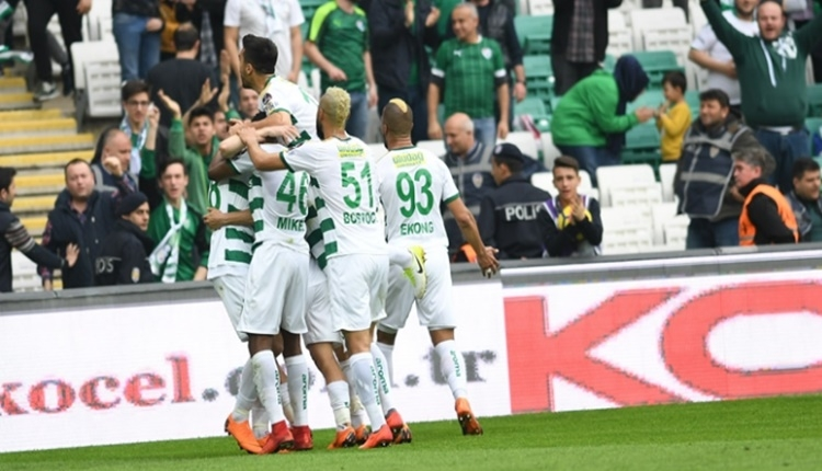 Bursaspor, bu sezon Süper Lig'de ilki yaşıyor