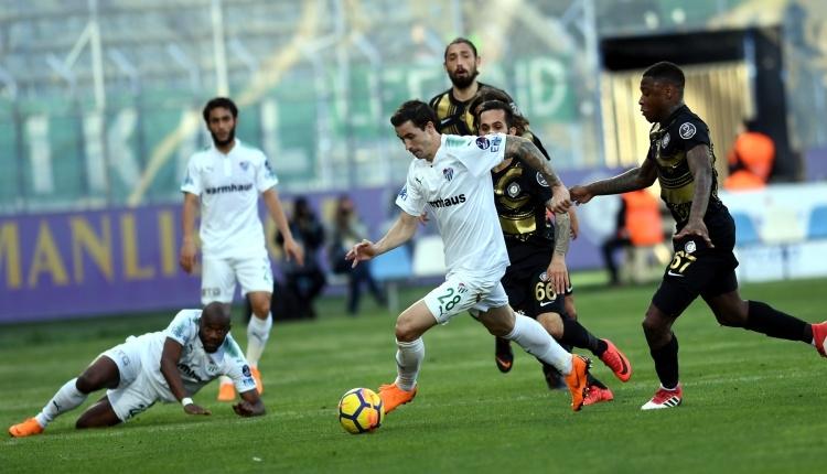 Bursaspor ligde sonunu getiremiyor