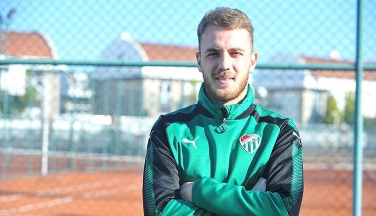 Bursaspor'a Ertuğrul Ersoy'dan iyi haber