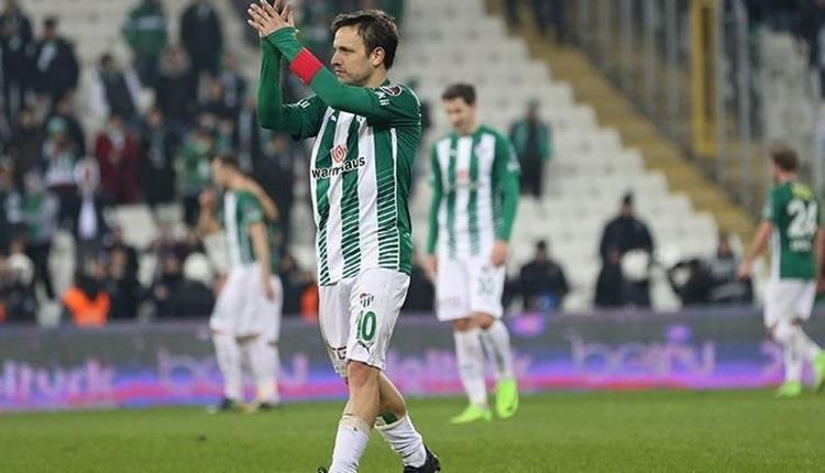 Bursaspor'da Batalla takımdan ayrılacak mı?