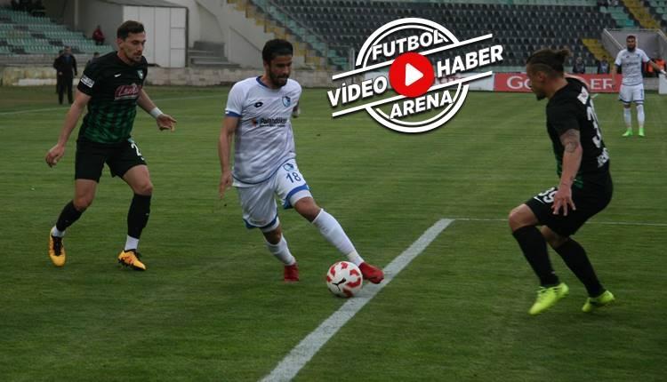Denizlispor 2-1 Erzurumspor maçı özeti ve golleri (İZLE)