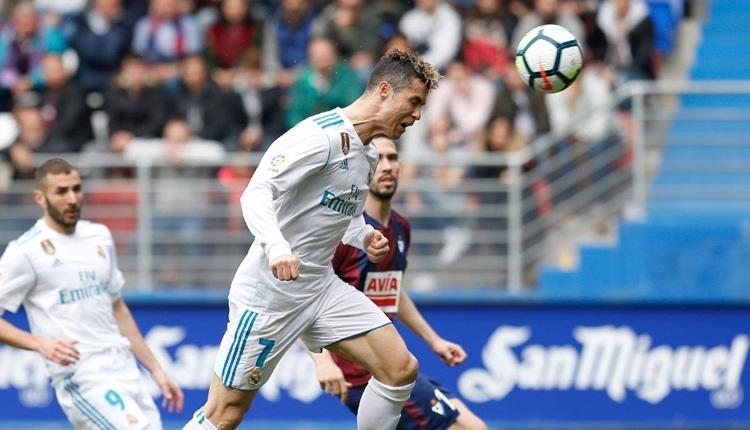 Eibar 1-2 Real Madrid maç özeti ve golleri (İZLE)