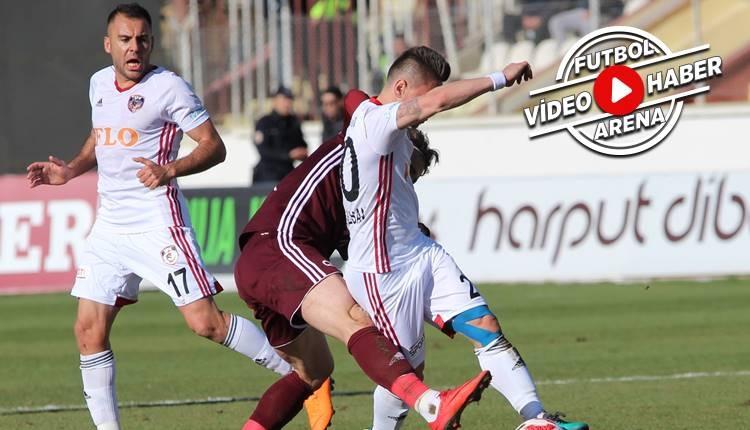 Elazığspor 1-2 Gazişehir Gaziantep maçı özeti ve golleri (İZLE)