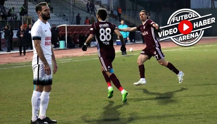 Elazığspor 3-0 Ümraniyespor maçı özeti ve golleri (İZLE)