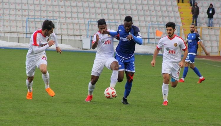 Erzurumspor 2-1 Eskişehirspor maç özeti ve golleri (İZLE)