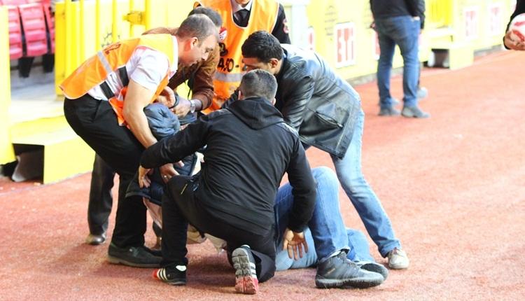 Eskişehirspor yöneticisi Altınordu maçında kalp krizi geçirdi