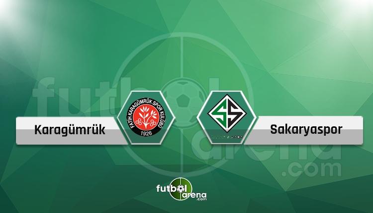 Fatih Karagümrük - Sakaryaspor maçı (CANLI) - Hangi kanalda?