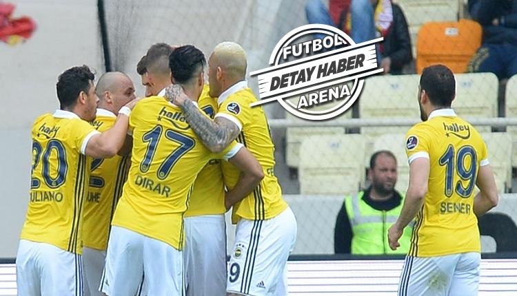 Fenerbahçe 2011/12 sezonundaki rekoruna yaklaştı! Neustadter'in Malatya'ya golü...