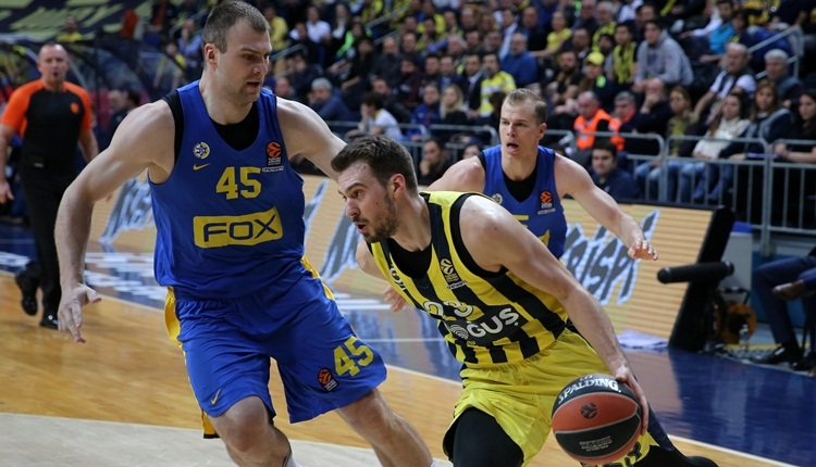 Fenerbahçe Doğuş evinde Maccabi Fox'u devirdi