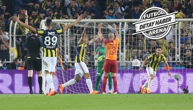 Fenerbahçe - Galatasaray derbisi tarihe geçti! Süper Lig'de ilk