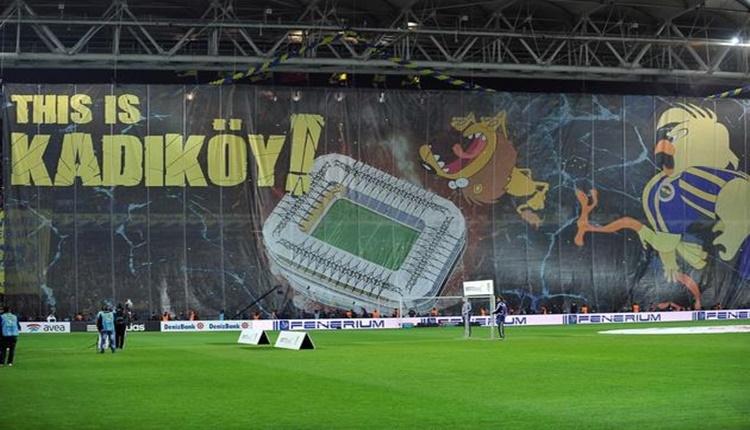 Fenerbahçe taraftarlarından Galatasaray'a Rocky misillemesi