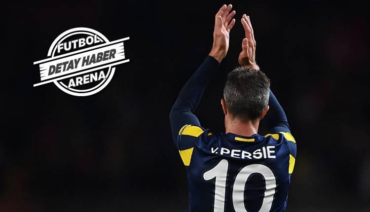 Fenerbahçe'den ayrıldı Hollanda'da coştu! Van Persie ilk 3'te...