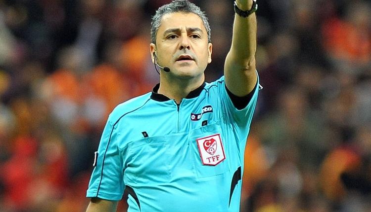 Fenerbahçe-Galatasaray derbisinin hakemi Bülent Yıldırım