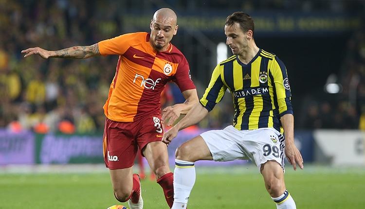 Fenerbahçe'nin Galatasaray derbisinde penaltı itirazı! Soldado...