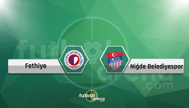 Fethiyespor 3-1 Niğde Belediyespor maç özeti ve golleri