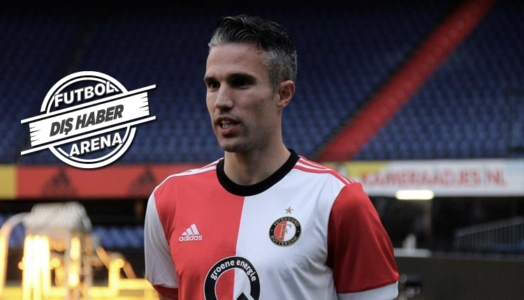 Feyenoord'da Van Persie sakatlandı