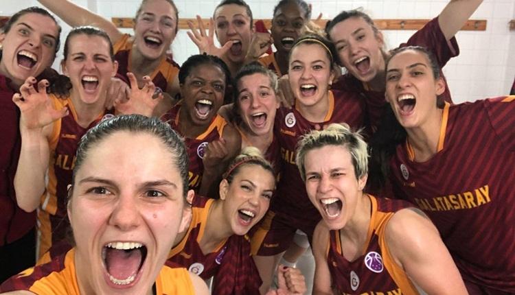 Galatasaray Avrupa'da finalde! Perfumerias Avenida'ya soğuk duş