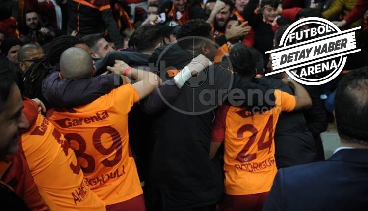 Galatasaray iç sahada fark yaratıyor! Yine kazandı...