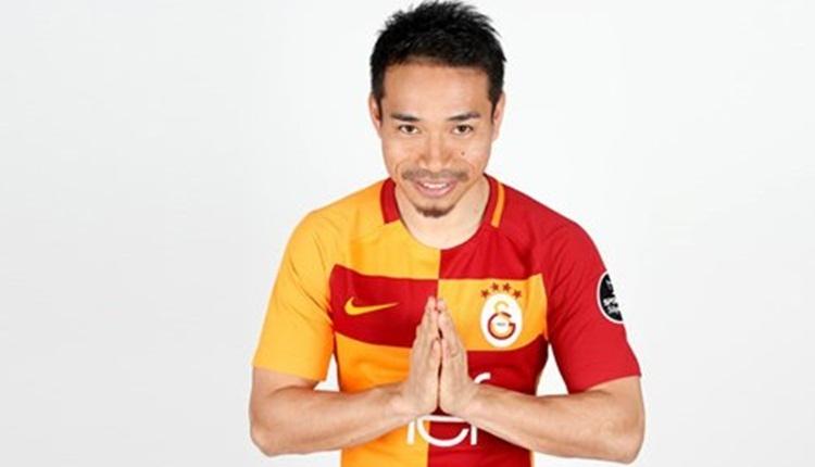 Galatasaray'a Nagatomo için Japonya'dan teşekkür