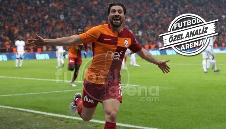Galatasaray'da gecenin kahramanı Sinan Gümüş!