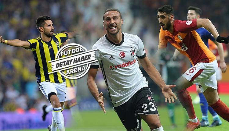 Galatasaray'ın yerlileri gol; Beşiktaş'ın yerlileri asistte lider