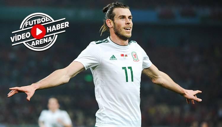 Gareth Bale Galler tarihine geçti (İZLE)