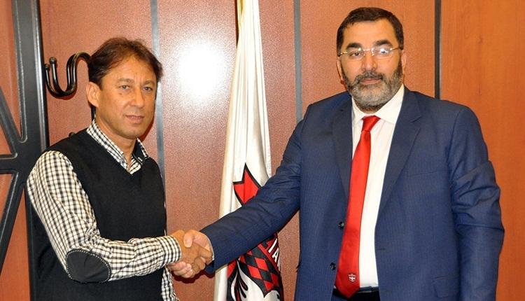 Gaziantepspor'un yeni teknik direktörü Faik Demir