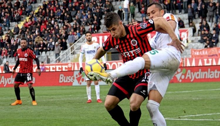 Gençlerbirliği 0 - 1 Aytemiz Alanyaspor maçın özeti ve golü (İZLE)
