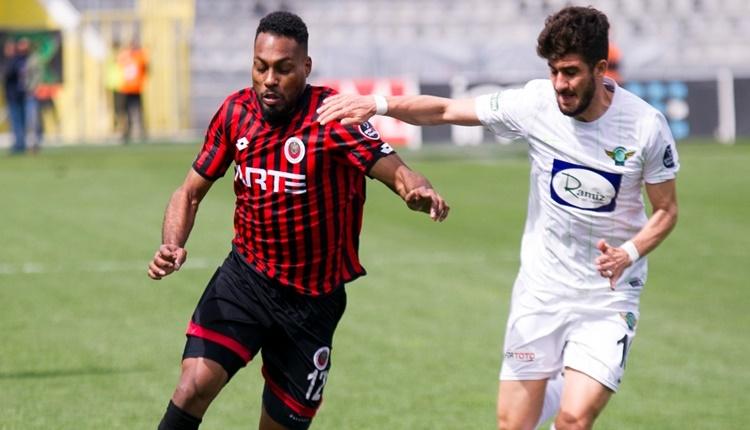 Gençlerbirliği 1 - 1 Akhisarspor maçın özeti ve golü (İZLE)