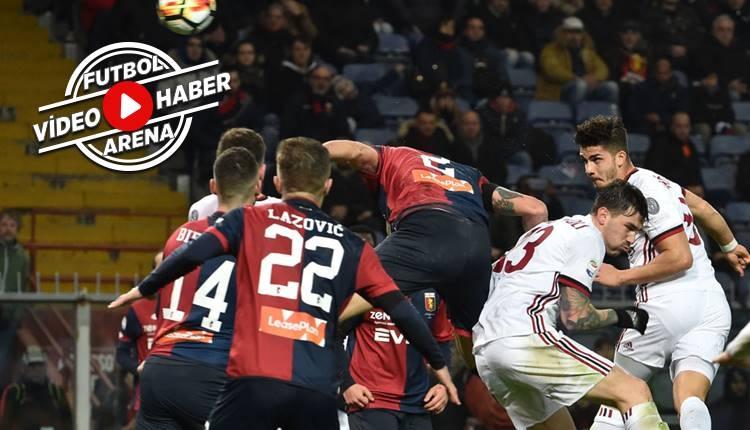 Genoa 0-1 Milan maçı özeti ve golü (İZLE)