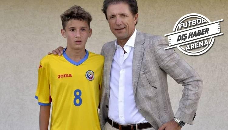 Gheorghe Hagi, Popescu'nun oğlunu transfer etti!