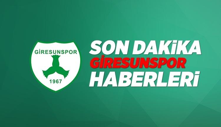 Giresunspor Haber son dakika - Mehmet Kazancıoğlu: