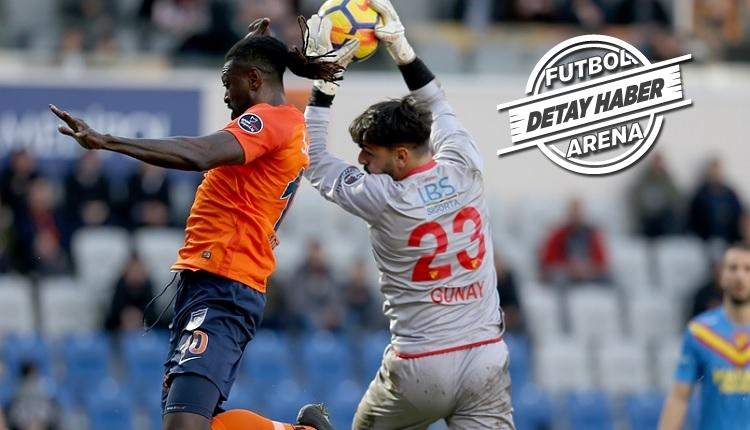 Göztepe kalecisi Günay Güvenç'ten Başakşehir maçında müthiş kurtarışlar