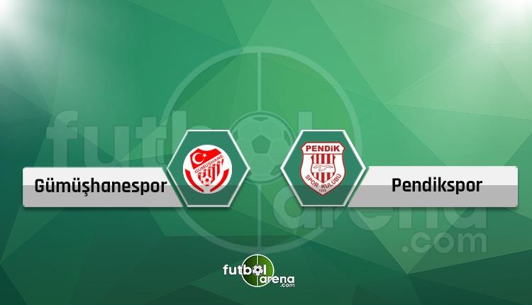 Gümüşhanespor - Pendikspor maçı canlı ve şifresiz İZLE