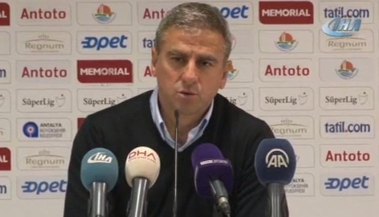 Hamza Hamzaoğlu'dan maç sonu Paul Le Guen'e övgü