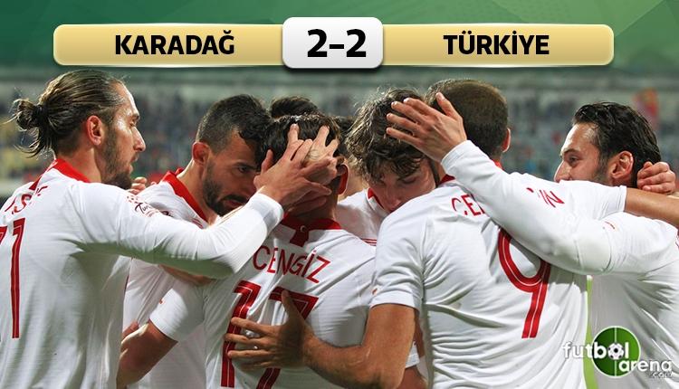 Hazırlık maçında Karadağ'ı geçemedik (İZLE)