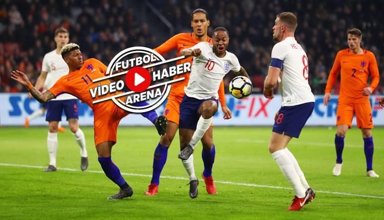Hollanda 0-1 İngiltere maçı özeti ve golü (İZLE)