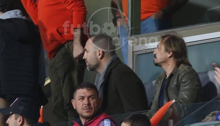 Igor Tudor ve Ayhan Akman, Başakşehir - Beşiktaş maçında!