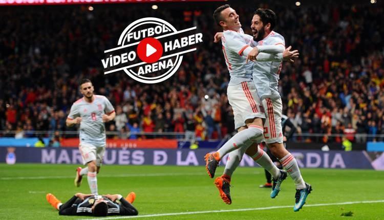 İspanya 6-1 Arjantin maçı özeti ve golleri (İZLE)