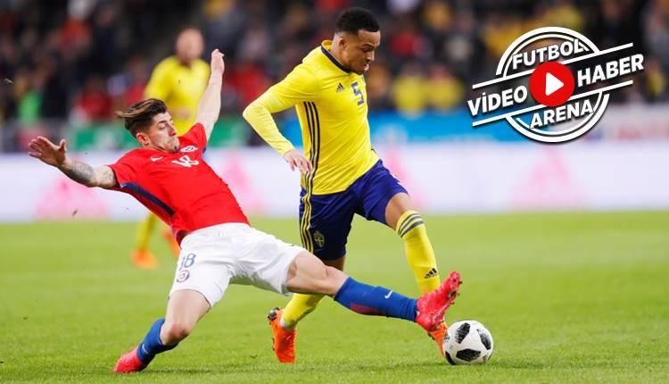 İsveç 1-2 Şili maçı özeti ve golleri (İZLE)