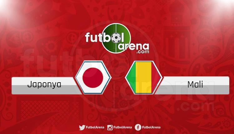Japonya - Mali hazırlık maçı (CANLI)